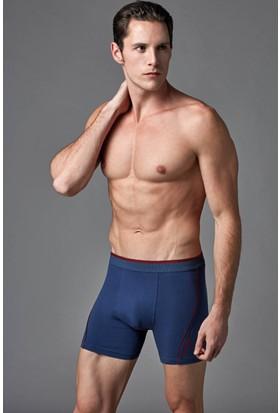 Eros Erkek Boxer Mavi