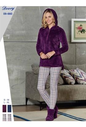 Dowry 09-660 Kışlık Bayan Pijama Takımı