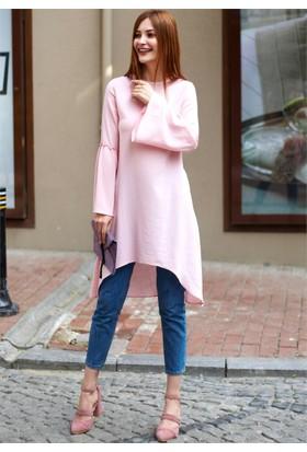 Femme Kolları İspanyol Tunik