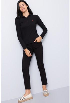 U.S. Polo Assn. Kadın Tina7S Kot Pantolon Siyah