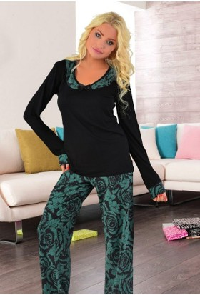 Miss Liska Uzun Kollu Pijama Takım 1250