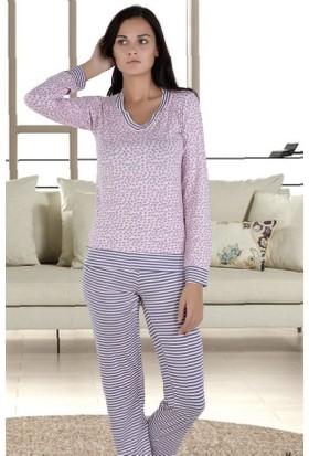 Miss Liska Uzun Kollu Pijama Takım 1291