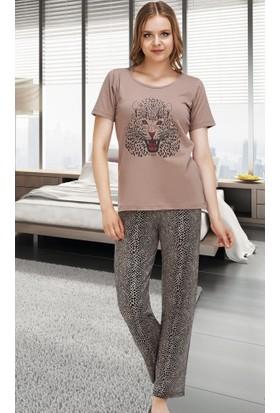 Miss Liska Yarım Kol Pijama Takım 1301