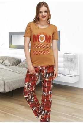 Miss Liska Yarım Kol Pijama Takım 1306