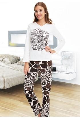 Miss Liska Kapşonlu Pijama Takım 1330