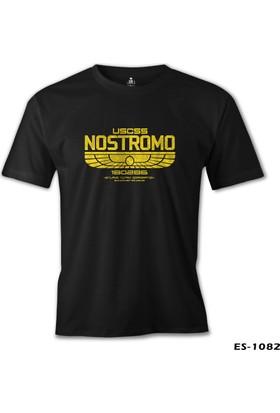 Lord T-Shirt Alien - Nostromo Siyah Erkek T-Shirt