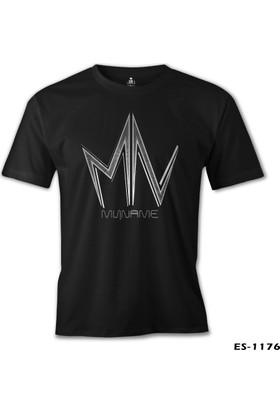 Lord T-Shirt MyName - Logo Siyah Erkek T-Shirt