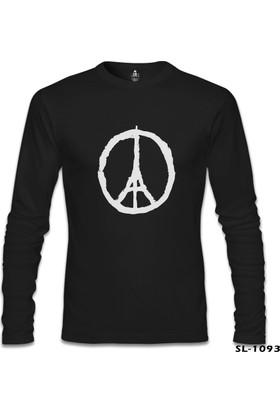Lord T-Shirt Paris - Peace Siyah Erkek Sweatshirt