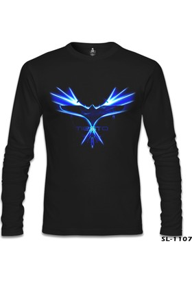 Lord T-Shirt Dj Tiesto - Logo Siyah Erkek Sweatshirt