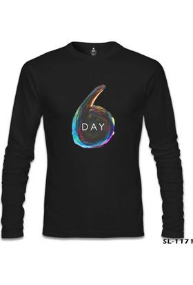Lord T-Shirt Day6 - Logo Siyah Erkek Sweatshirt