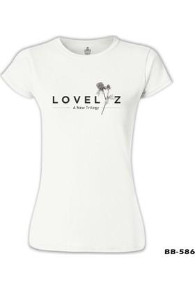 Lord T-Shirt Lovelyz - Trilogy Beyaz Kadın T-Shirt