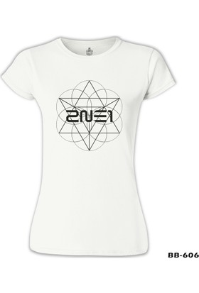 Lord T-Shirt 2NE1 - Crush Beyaz Kadın T-Shirt