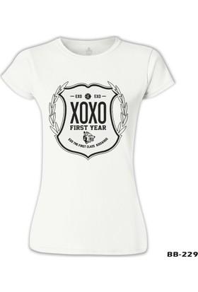 Lord T-Shirt EXO - First Year Beyaz Kadın T-Shirt