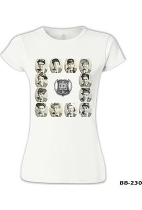 Lord T-Shirt EXO - X0X0 Beyaz Kadın T-Shirt