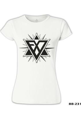 Lord T-Shirt EXO - EXOgen Beyaz Kadın T-Shirt