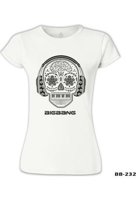 Lord T-Shirt Bigbang Beyaz Kadın T-Shirt