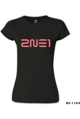 Lord T-Shirt 2NE1 - Logo Siyah Kadın T-Shirt