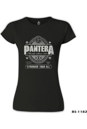 Lord T-Shirt Pantera - Stronger than All Siyah Kadın T-Shirt