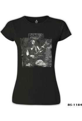 Lord T-Shirt Pantera - Dimebag Scratch Siyah Kadın T-Shirt