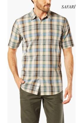 Dockers Erkek Kısa Kollu Gömlek 67441-0037+41