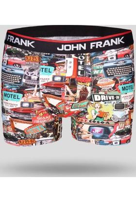 John Frank Erkek Boxer Jfb118 Multıcolor
