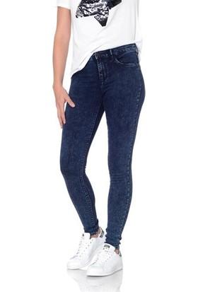 Only Bayan Kot Pantolon 15138866 Jeans Leggings Donna Only Blue