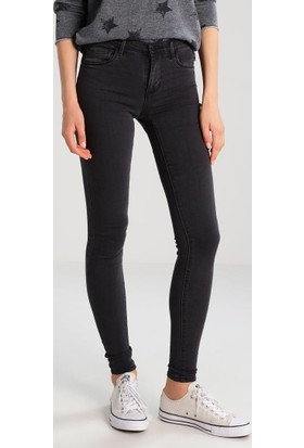 Only Bayan Kot Pantolon 15139192Onlraın - Jeans Skinny Fit - Dark Grey Denim
