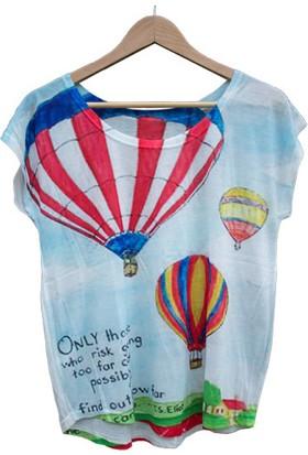 Enfes Şeyler Kadın Bluz - Baloon