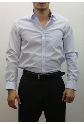 Uztex Dacron Klasik U Kol Gömlek