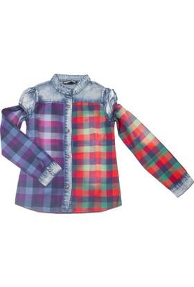 Puledro Kids Kız Çocuk Gömlek 11Y-7300