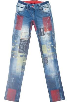 Puledro Kids Kız Çocuk Pantolon G-4603