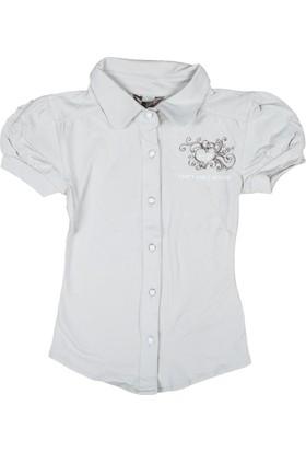 Puledro Kids Kız Çocuk Gömlek G-7512