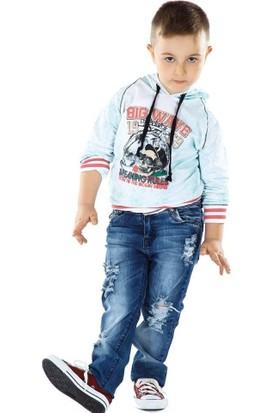 Puledro Kids Erkek Çocuk Sweatshirt B51E-3074