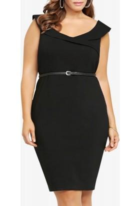 Melisita Pentra Ss01510Eb Siyah Elbise