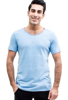 TheDON Açık Mavi Supreme Erkek T-Shirt