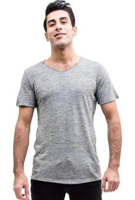 TheDON Antrasit Melanj Supreme Erkek T-Shirt