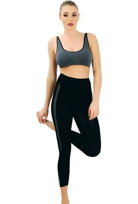 Emay MI 3803 Kadın Fitness Büstiyer Tayt Sporcu Takım