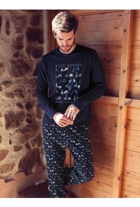 Ayyıldız 50286 Uzun Kollu Pijama Takımı