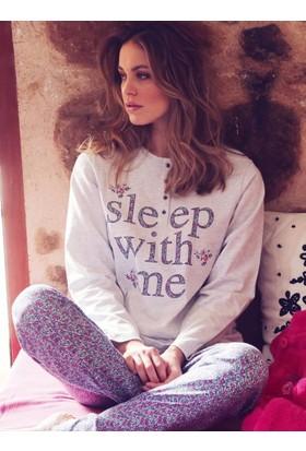 Ayyıldız 50465 Uzun Kollu Pijama Takımı