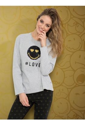 Ayyıldız 50820 Uzun Kollu Pijama Takımı