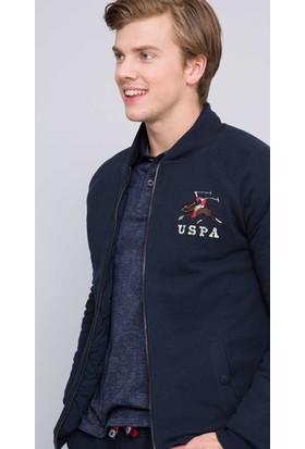 U.S. Polo Assn. Erkek Boby Sweatshirt Lacivert