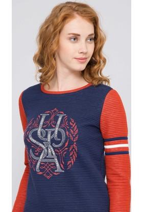 U.S. Polo Assn. Kadın Gevan Sweatshirt Lacivert