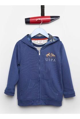 U.S. Polo Assn. Erkek Çocuk Torresr Sweatshirt Mavi