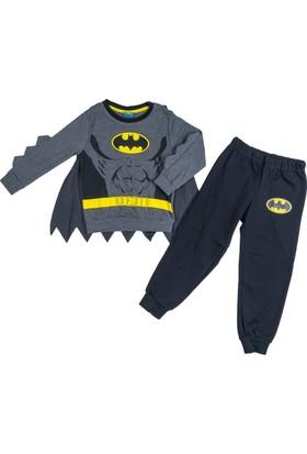 Batman BM12334 Çocuk Pelerinli Pijama Takımı