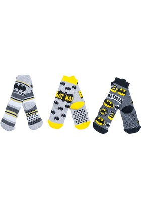 Batman BM12406 Çocuk 3'lü Havlu Soket Çorap