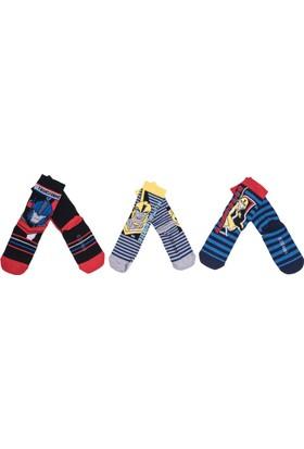 Transformers TR9664 Çocuk 3'lü Soket Çorap