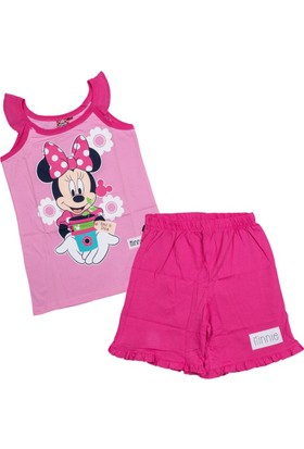 Minnie Mouse MN7581 Çocuk Pijama Takımı