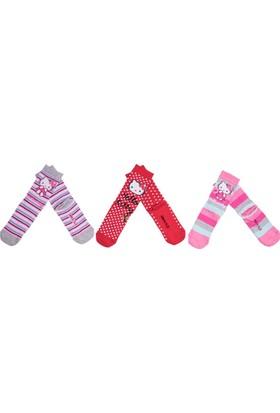 Hello Kitty HK9573 Çocuk Soket Çorap