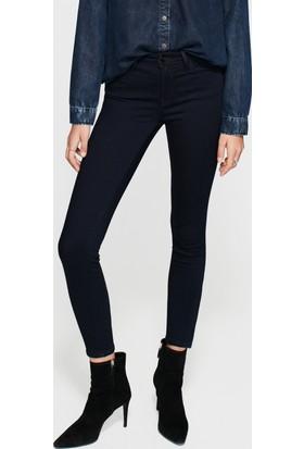 Mavi Kadın Adriana Ankle Farmuarlı Lacivert Gold Jean Pantolon
