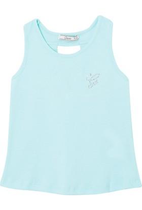 Goose Kız Çocuk Sırtı Fiyonklu T-Shirt